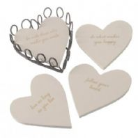 'Follow Your Heart' Coasters